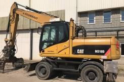 Caterpillar M318D. Перегружатель 2007 , Дизельный