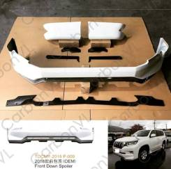 Обвес кузова аэродинамический. Toyota Land Cruiser Prado, GDJ150W, GDJ151W, TRJ150W