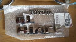 Эмблема багажника. Toyota: Land Cruiser, Hiace, Verso, Highlander, Kluger V Двигатели: 1URFE, 1VDFTV, 2UZFE, 1KDFTV, 2KDFTV, 2TRFE, 1NRFE, 1ZRFAE, 2ZR...