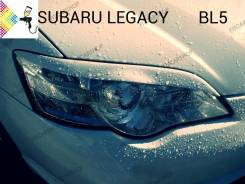 Накладка на фару. Subaru Legacy, BL5