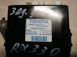 Блок управления дверями. Lexus RX330, MCU33, MCU38 Lexus RX350, MCU33, MCU38 Двигатель 3MZFE