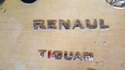 Эмблема багажника. Renault