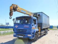КамАЗ 6586-001-01. Камаз 6586-01 с КМУ Soosan SCS736LII на 6 тонн 2014 года, 6 700куб. см., 10 000кг.