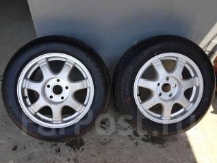 "Пара колес Toyota Crown. 7.5x16"" 5x114.30 ET50 ЦО 60,0мм."
