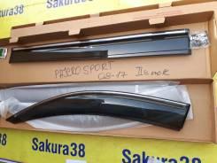Ветровик на дверь. Mitsubishi Pajero Sport, KH0, KS0W Двигатели: 4D56, 4M41, 4N15, 6B31