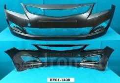 Бампер. Hyundai Solaris, RB Двигатели: G4FC, G4FA. Под заказ