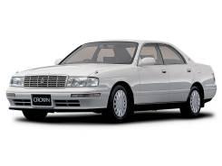 Стекло лобовое. Toyota Crown, GS141