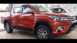 Накладка на крыло. Toyota Hilux Pick Up, GUN125, GUN125L, GUN126L Двигатели: 1GDFTV, 2GDFTV