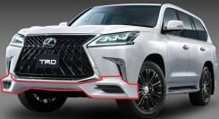 Обвес кузова аэродинамический. Lexus LX450d, URJ200 Двигатель 1VDFTV
