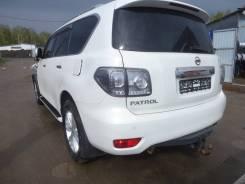 Nissan Patrol. ПТС 2012г. Цвет белый.
