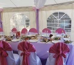 Аренда шатров, стульев, столов, посуды