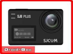 Sjcam SJ8 Plus. Поддержка 4K/30 FPS. Экшен камера, (малый бокс). 10 - 14.9 Мп, с объективом
