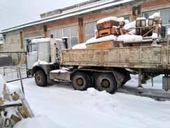 МАЗ 64229. Седельный тягач МАЗ-64229 2001 г. в. с п/прицепом 12 метров, 11 500куб. см., 30 000кг.