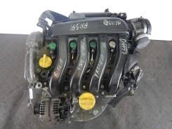Двигатель (ДВС) Renault Clio 3 (1.4i 16v 98лс K4J 780)