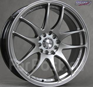 "Work Emotion CR Kiwami. 7.5x17"", 5x100.00, 5x114.30, ET35, ЦО 73,1 мм."
