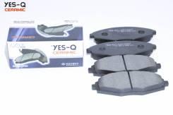 Колодка дискового тормоза перед. YES-Q Ceramic ESD9051
