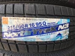 Northtrek N3. Зимние, без шипов, 2015 год, без износа, 4 шт. Под заказ