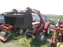 Shibaura. Трактор 18 л. с. с фрезой и погрузчиком, 18 л.с.