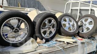 "Продам колёса ковка Lodio Drive на летней резине на TLC 100/200. 9.5x20"" 5x150.00 ET51 ЦО 110,0мм."