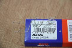 Лампа - 12V, 3,4W в панель приборов, без цоколя T10 один. (90981-11020, 83109-24020) 1581