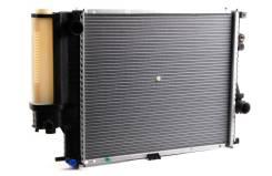 Радиатор охлаждения двигателя. BMW 5-Series, E39 Двигатели: M52B20, M52B25, M52B28