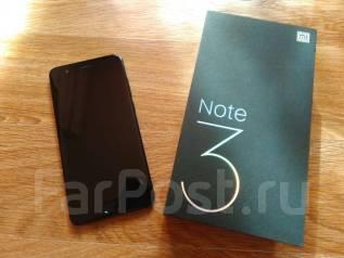 Xiaomi Mi Note 3. Б/у, 64 Гб, Черный, 3G, 4G LTE, Dual-SIM