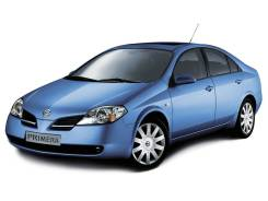 Стекло лобовое. Nissan Primera, P12, P12E