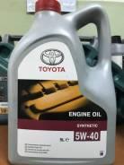 Toyota. Вязкость 5W40, синтетическое