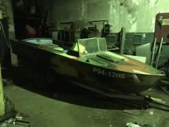 Прогресс-4. длина 4,65м., двигатель подвесной, 45,00л.с., бензин
