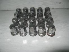 Гайка на колесо. Toyota Camry, ACV40 Двигатели: 2ARFXE, 2AZFE, 2AZFXE, 3AZFXE, 4ARFXE