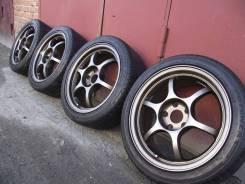 "Black Racing Pro N1 17""5*114.3 лето Bridgestone Potenza S001 215/45R17"
