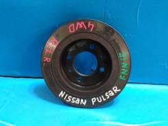 Диск тормозной. Nissan: Wingroad, Sunny California, Sentra, Lucino, Presea, 200SX, Rasheen, Pulsar, Sunny, Almera Двигатели: CD20, GA15DE, GA13DE, GA1...