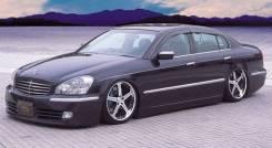 Обвес кузова аэродинамический. Nissan Cima, GF50