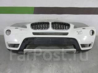 Бампер. BMW X3, F25 Двигатели: N20B20O0, N20B20U0, N47D20, N52B30, N55B30M0, N57D30OL, N57D30TOP