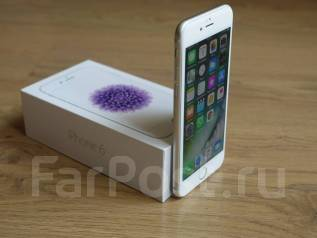 Apple iPhone 6. Б/у, 16 Гб, Серебристый