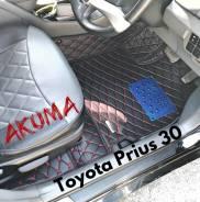 Коврики. Toyota Prius, NHW20, ZVW30, ZVW30L Двигатели: 1NZFXE, 2ZRFXE