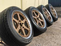 """Stern Face-II-6S + Maxxis Victra Z3. 8.5/8.5x17"""" 5x114.30 ET43/48 ЦО 73,1мм."""