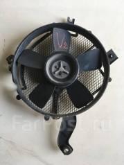 Вентилятор радиатора кондиционера. Mitsubishi Pajero, V24C, V24V, V24W, V24WG, V26C, V26W, V26WG, V44W, V44WG, V46V, V46W, V46WG