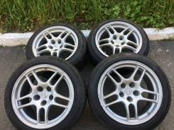 "Легендарные Диски! Enkei Nissan GT-R R33 оригинал + резина Triangle. 9.0x17"" 5x114.30 ET30"