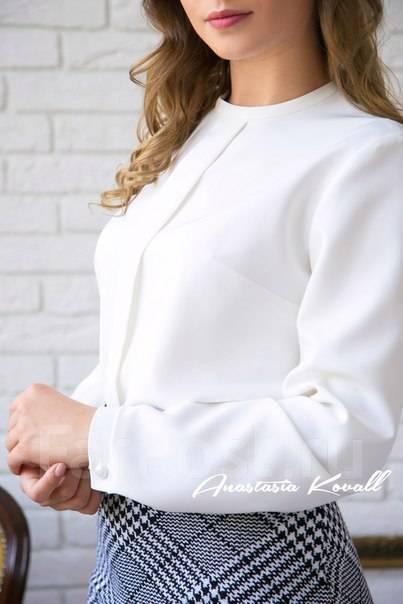 a82b383915c Блуза женская белая классика - Основная одежда во Владивостоке