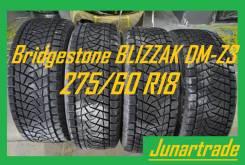 Bridgestone Blizzak DM-Z3. Зимние, без шипов, 2002 год, 20%, 4 шт