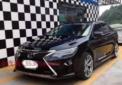 Передний бампер (Дизайн Lexus)Toyota Camry (XV55) 2014-2016.