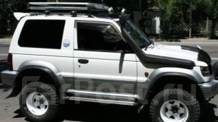 Шноркель. Mitsubishi Pajero, V63W, V64W, V65W, V66W, V67W, V68W Двигатели: 4D56T, 6G72, 6G74, 6G75. Под заказ