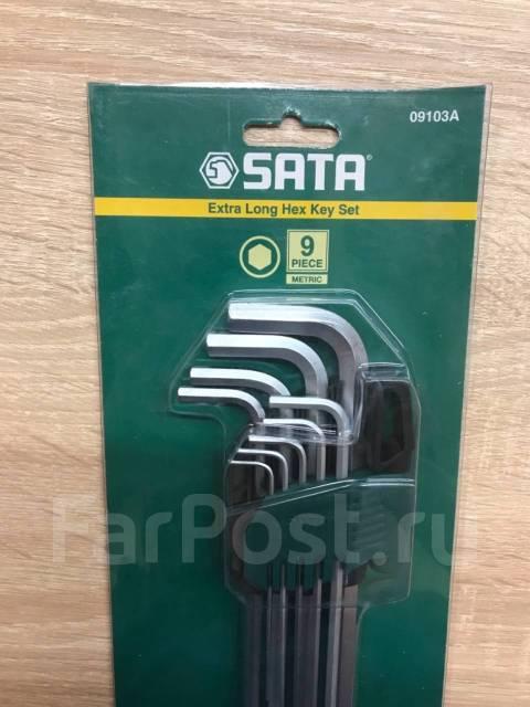 Набор шестиганников угловых 9 предметов 09103A SATA оригинал