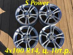 "Wheel Power. 5.5x14"", 4x100.00, ET30"