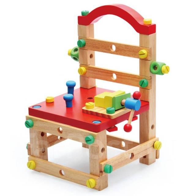 деревянный конструктор собери стул бесплатная доставка