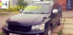 Накладка на фару. Toyota Kluger V, ACU20W