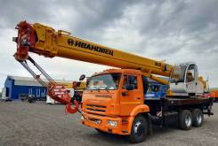 Ивановец КС-45717К-1Р. Автокран 25 тонн на базе Камаз 65115, 6 700куб. см., 25 000кг., 31м.