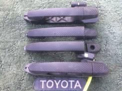 Ручка двери внешняя. Toyota Corolla Fielder, NZE121, NZE121G