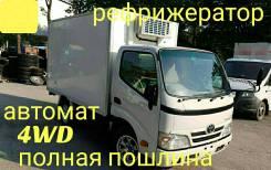 Toyota ToyoAce. Toyota Toyoace 4WD, рефрижератор 1,7 тонны, 3 000куб. см., 1 750кг.